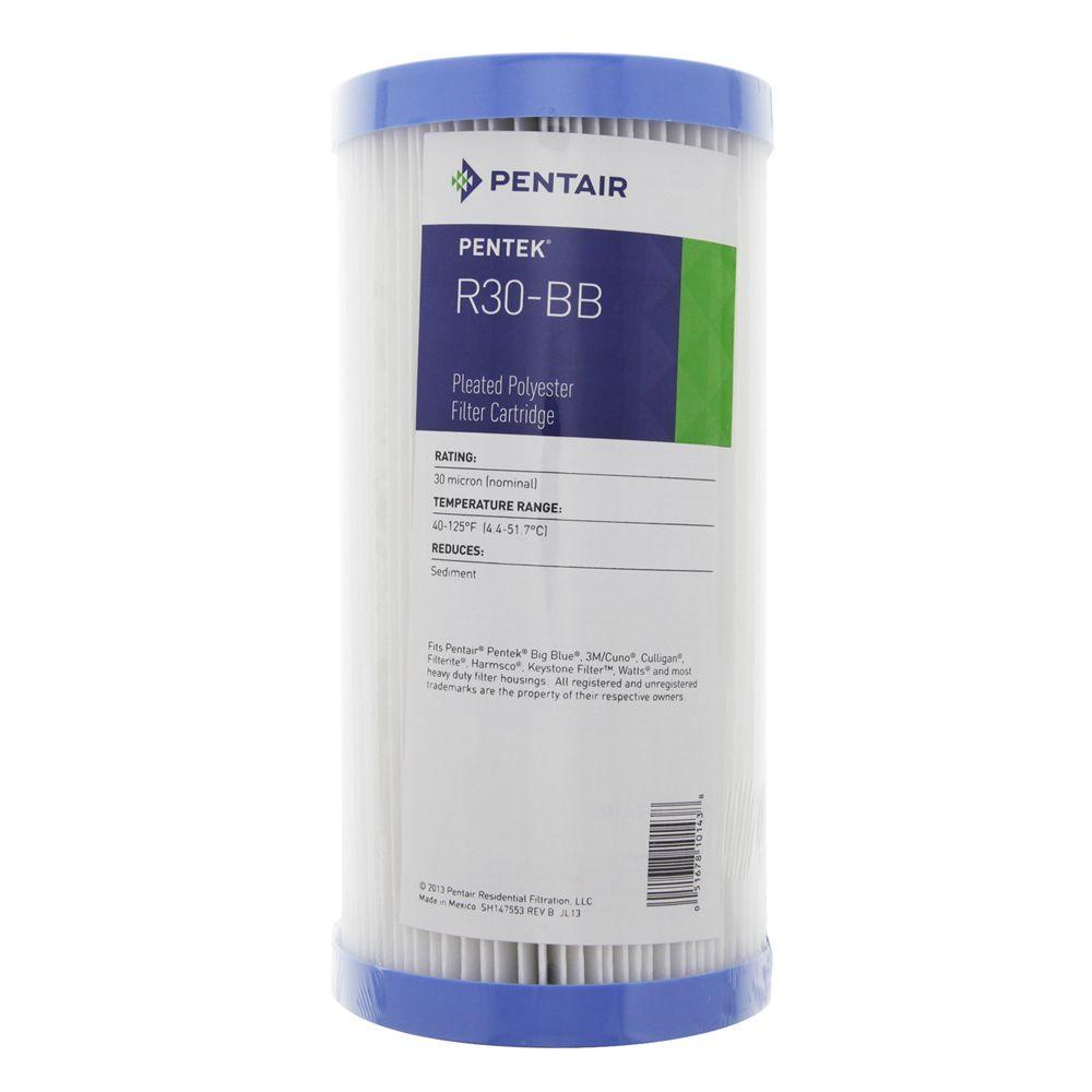 20 Micron Pentek S1-20BB Pleated Cellulose Filter Cartridge 20 x 4-1//2 Pack of 4