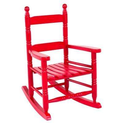 Red Children's Patio Rocker