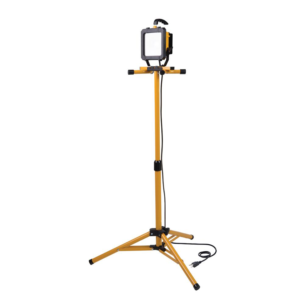 Stand Up Light: All-Pro 2500 Lumen LED Tripod Stand Work Light-WL2540LST