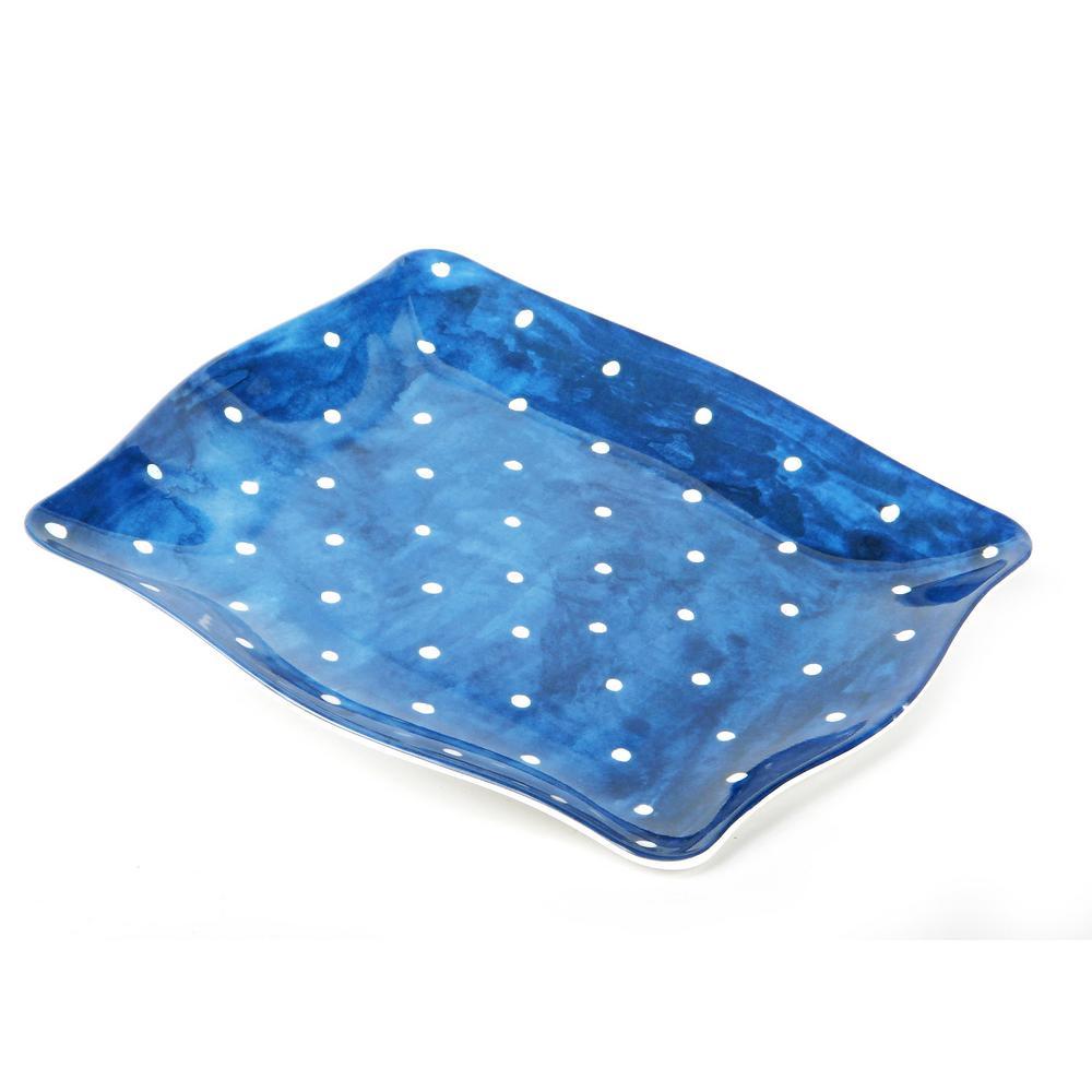 Pallini Blue Salad Plate (Set of 4)
