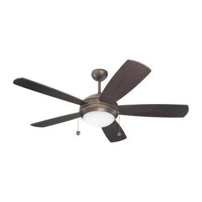 Discus 52 in. Roman Bronze Ceiling Fan