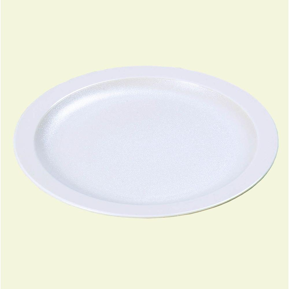 Narrow Rim Commercial Dinnerware Plate in White (Case of 48) & Carlisle 5.5 in. Narrow Rim Commercial Dinnerware Plate in White ...