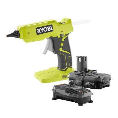 18-Volt ONE+ Lithium-Ion Full Size Glue Gun Kit with One 1.3Ah Battery and Charger