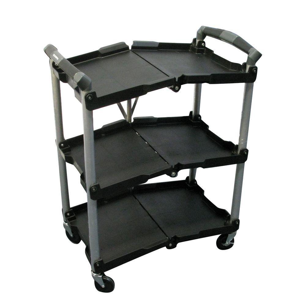 Folding Work Cart The Best Cart