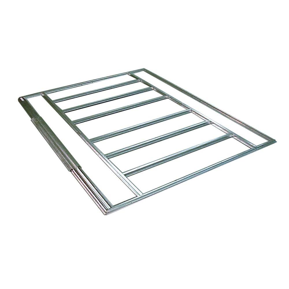 Arrow 10 ft. x 12 ft. - 14 ft. Galvanized Steel Floor Frame Kit