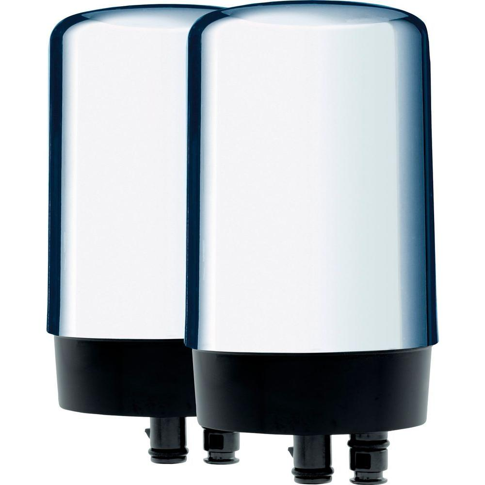 Brita On Tap Replacement Filters in Chrome-6025842618 - The Home Depot