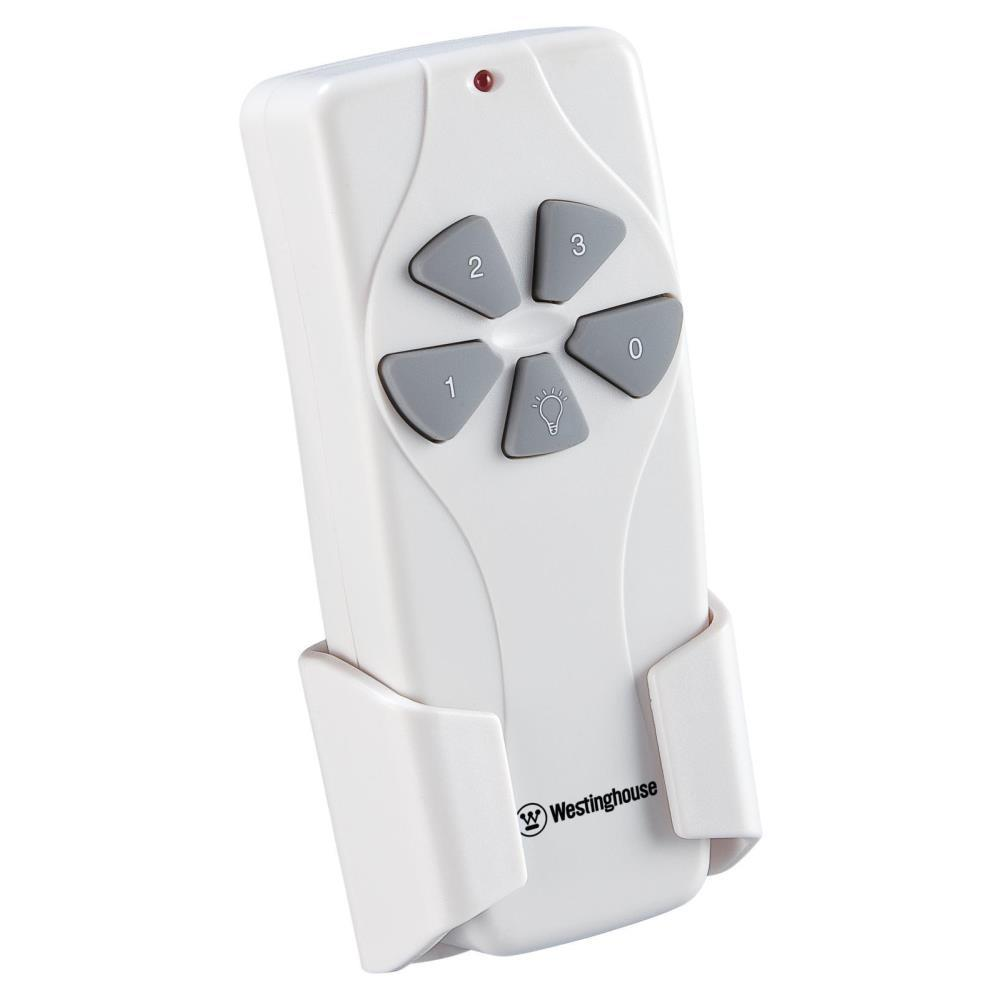 Westinghouse 3 Speed Ceiling Fan and Light Dimmer Remote Control