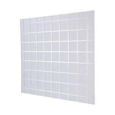 2 ft. x 4 ft. Acrylic Clear Prisma Square Lighting Panel (5-Pack)