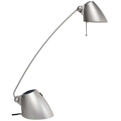 Catherine 21 in. Silver Table Lamp