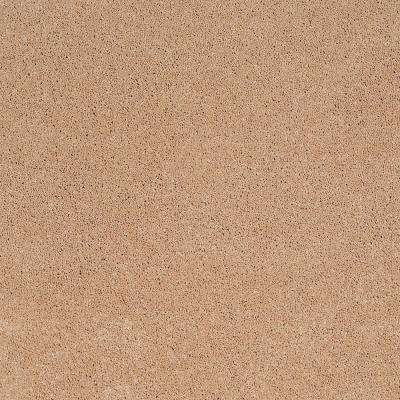 Carpet Sample - Coral Reef II - Color Aged Copper Texture 8 in. x 8 in.