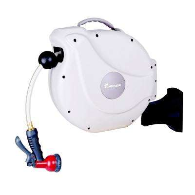 50 ft. Retractable Garden Hose Reel NW Series Includes Hose and Spray Nozzle