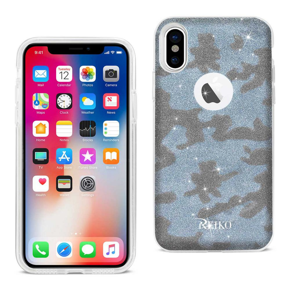 iPhone X Design Case in Blue