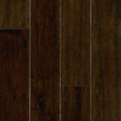 Take Home Sample - Mocha Maple Engineered Hardwood Flooring - 5 in. x 7 in.