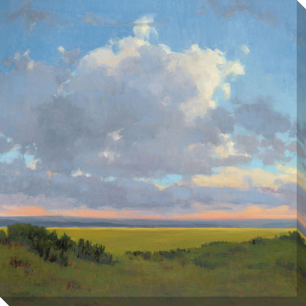 NEP Art 40 in. x 40 in. Afternoon Sky I Oversized Canvas Gallery Wrap