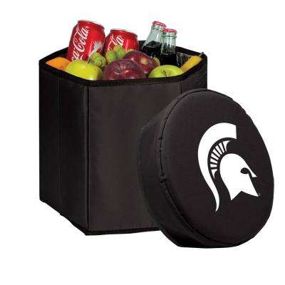 12 Qt. Michigan State Spartans Black Bongo Cooler