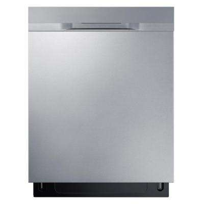 24 in Top Control StormWash Dishwasher in Stainless Steel and AutoRelease Dry, 48 dBa