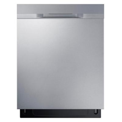 Samsung 24 in Top Control StormWash Dishwasher in Stainless Steel and AutoRelease Dry, 48 dBa