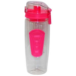 Green Canteen 32 oz. Pink Plastic Tritan Hydration Bottle with Infuser (6-Pack) by Green Canteen
