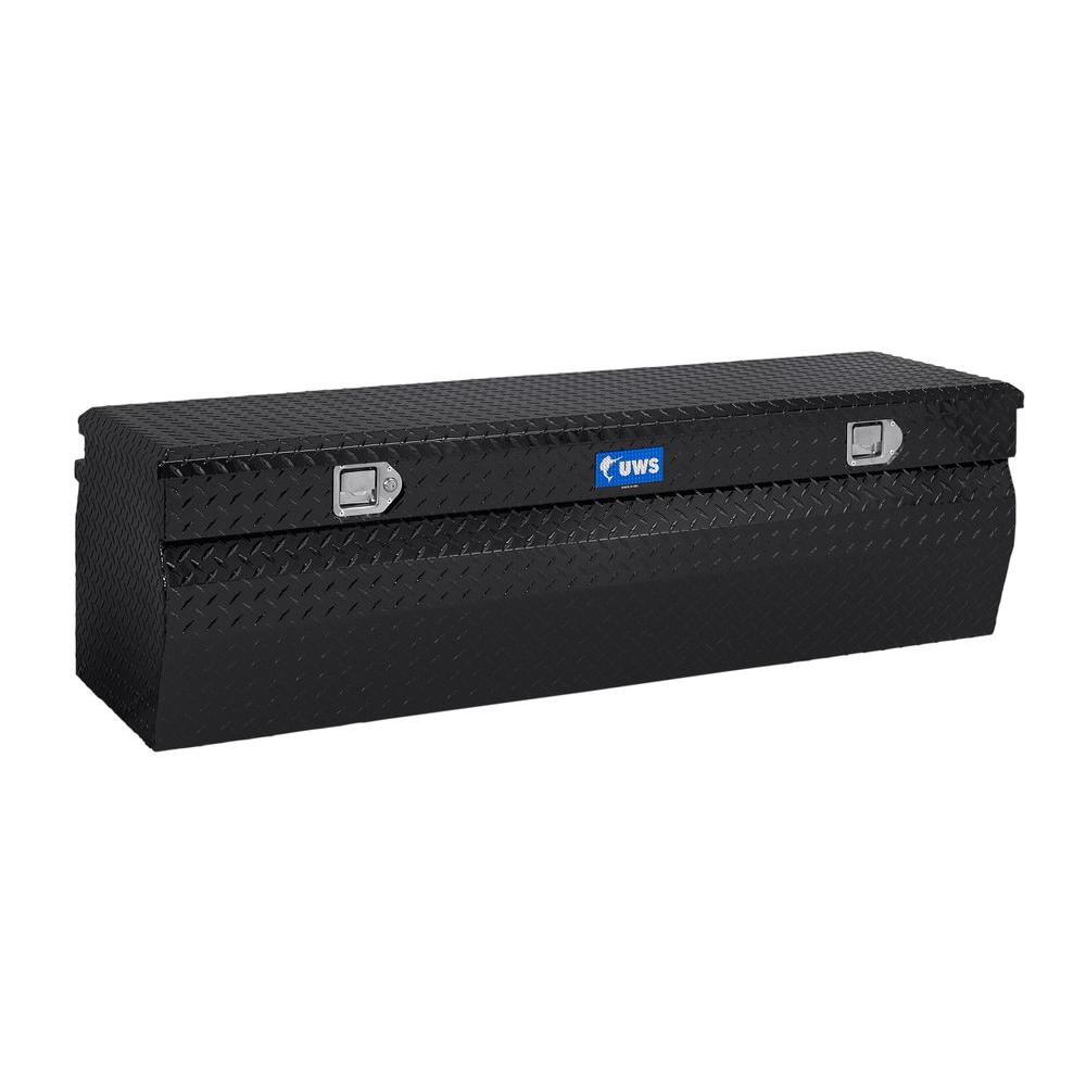 UWS 36 in. Aluminum Black Chest Box with Wedge
