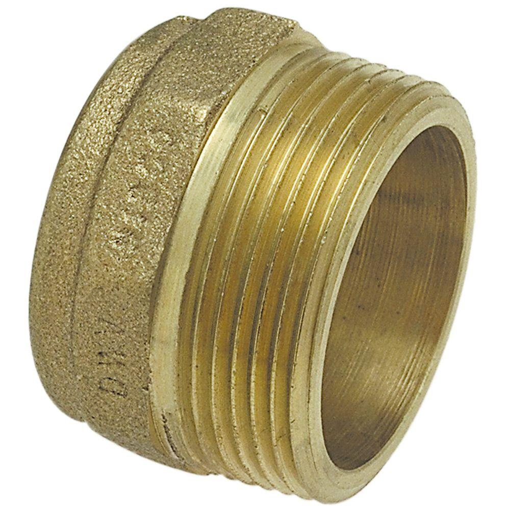 2 in. Cast Bronze DWV C x MPT Male Adapter