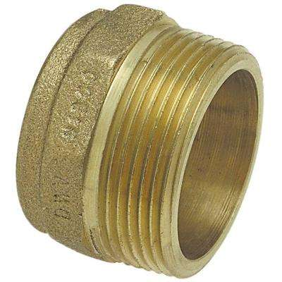 1-1/2 in. Bronze DWV C x MPT Male Adapter