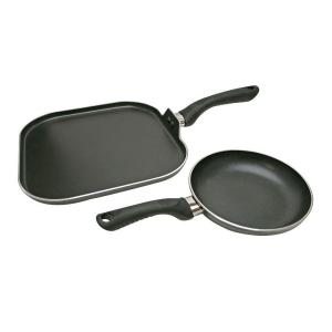 Ecolution Artistry 2-Piece Black Cookware Set by Ecolution