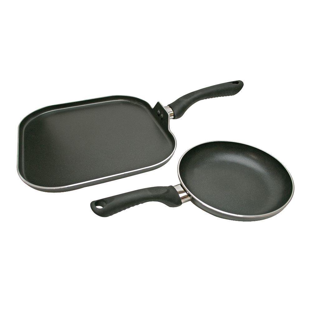 Artistry 2-Piece Black Cookware Set