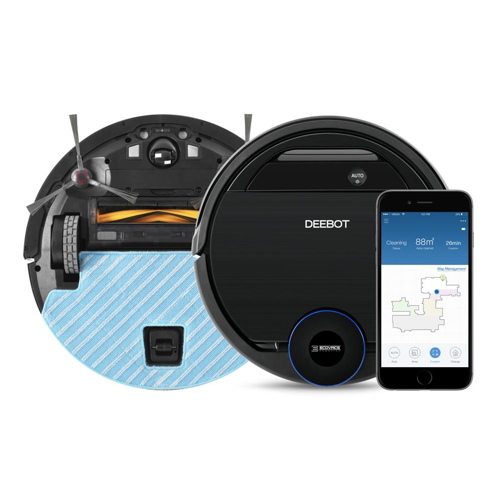 Ecovacs DEEBOT OZMO 930 Robotic Vacuum Cleaner