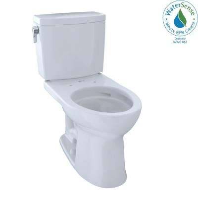 Drake II 2-Piece 1.0 GPF Single Flush Elongated Toilet with CeFiONtect in Cotton White