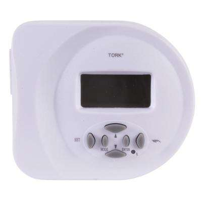 15 Amp SunSet Astronomical 2 Grounded Outlets Digital Security Timer