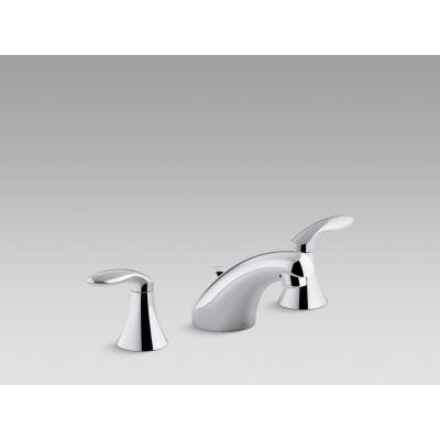Coralais 8 in. Widespread 2-Handle Bathroom Faucet Project Pack in Polished Chrome