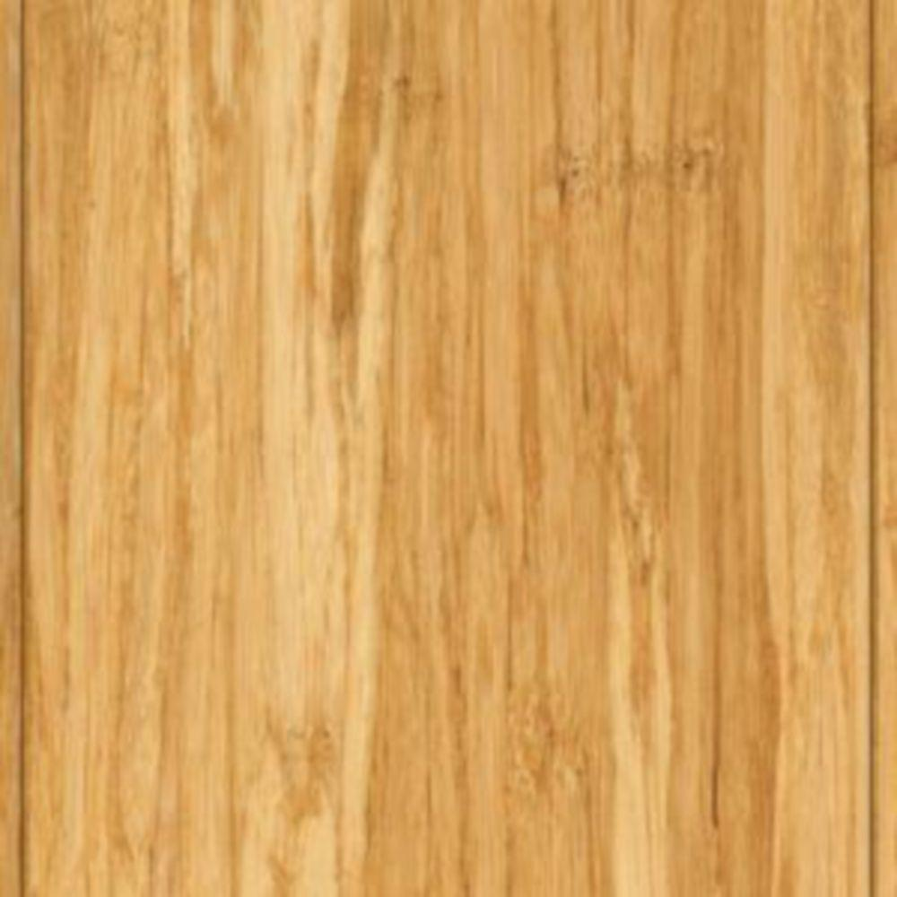 Home Legend Take Home Sample - Brushed Strand Woven Lyndon Solid Bamboo Flooring - 5 in. x 7 in.