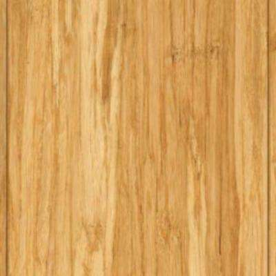 Take Home Sample - Brushed Strand Woven Lyndon Solid Bamboo Flooring - 5 in. x 7 in.