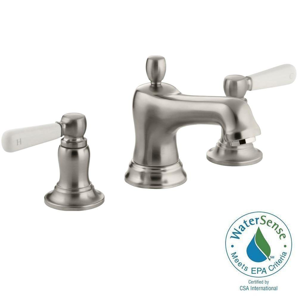 KOHLER Rubicon In Widespread Handle Bathroom Faucet In - 8 widespread bathroom sink faucets for bathroom decor ideas