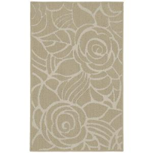 Garland Rug Rhapsody Tan/Ivory 2 ft. 6 inch x 3 ft. 10 inch Accent Rug by Garland Rug
