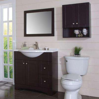 Brown - Bathroom Wall Cabinets - Bathroom Cabinets & Storage - The ...