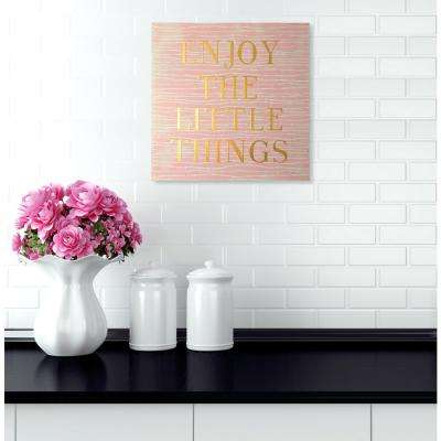 7 in. x 7 in. Enjoy Everything by Wynwood Studio Art Block