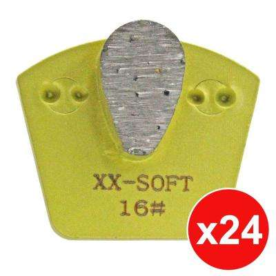 Raptor XTi Exposed Aggregate Tooling Package for Hard Concrete