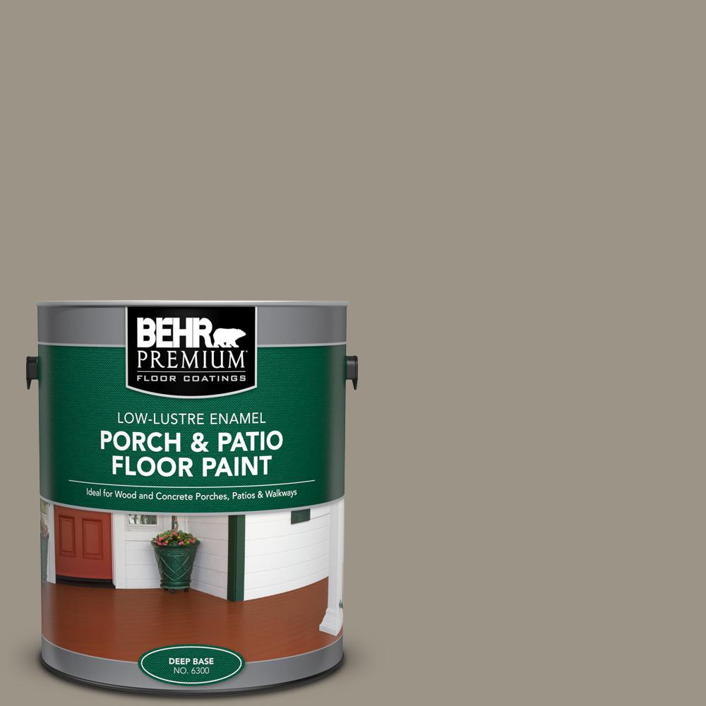 Behr Premium 1 Gal Home Decorators Collection Hdc Ct 20 Greywood Low Lustre Enamel Interior Exterior Porch And Patio Floor Paint 630001 The Home Depot