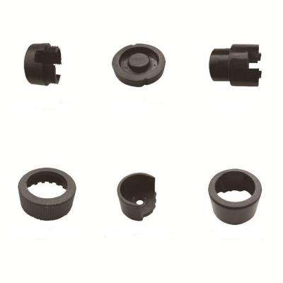 Black Round Line Mounting Hardware (10-Pack)