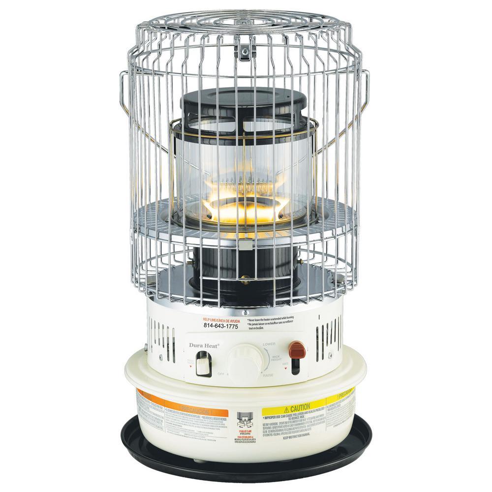 DuraHeat 10,500 BTU Compact Indoor Safe Kerosene Heater