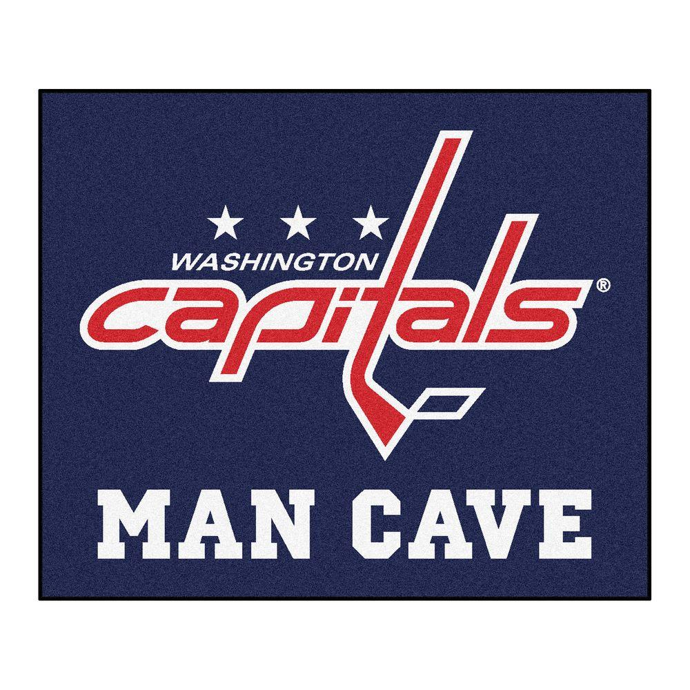 Man Cave Vancouver Wa : Fanmats washington capitals blue man cave ft