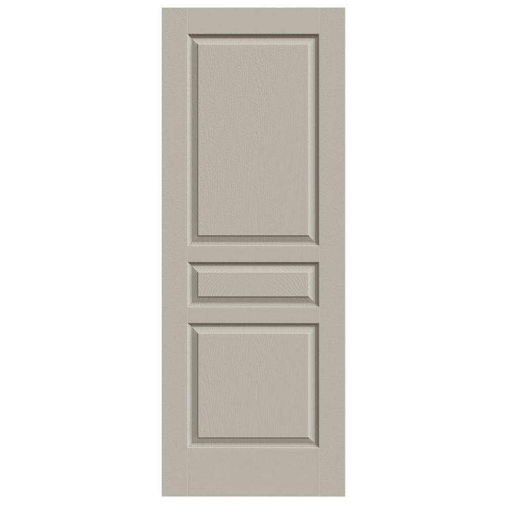 JELD WEN 30 In. X 80 In. Avalon Desert Sand Painted Textured Hollow