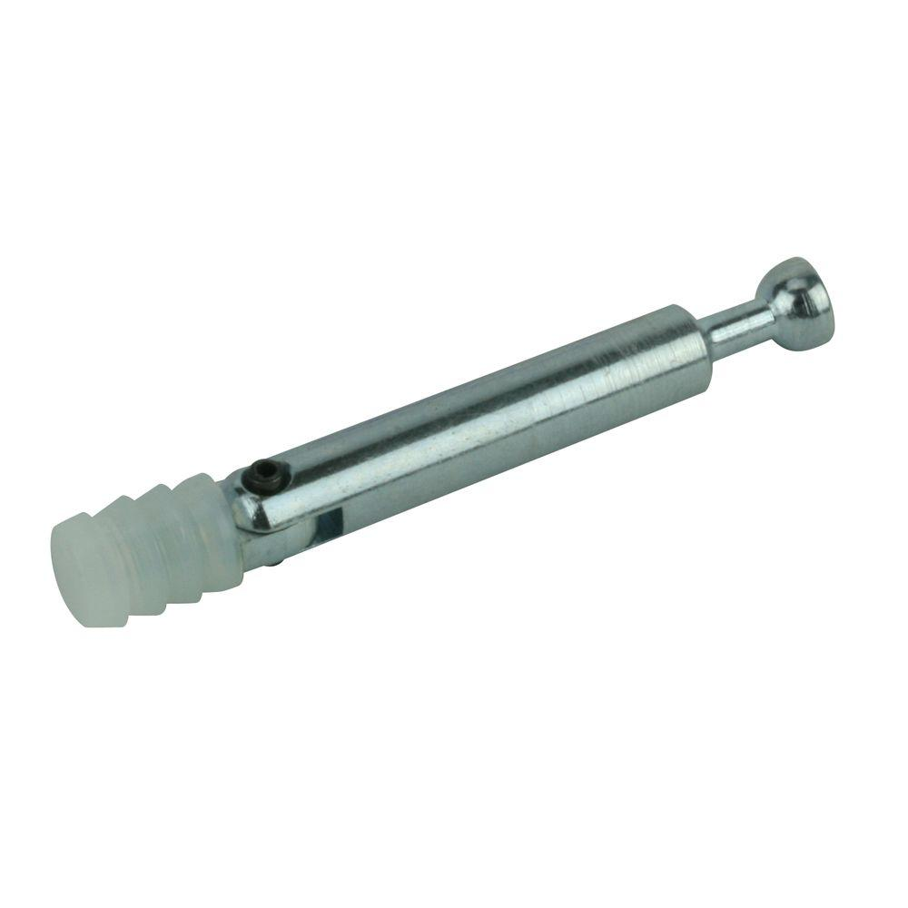 3/8 in. Zinc Miter Connector with Dowel