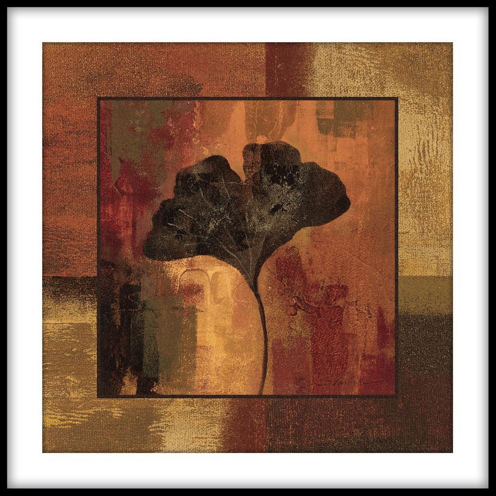 PTM Images 13.75 in. x 13.75 in. ''Caramel'' Framed Wall Art