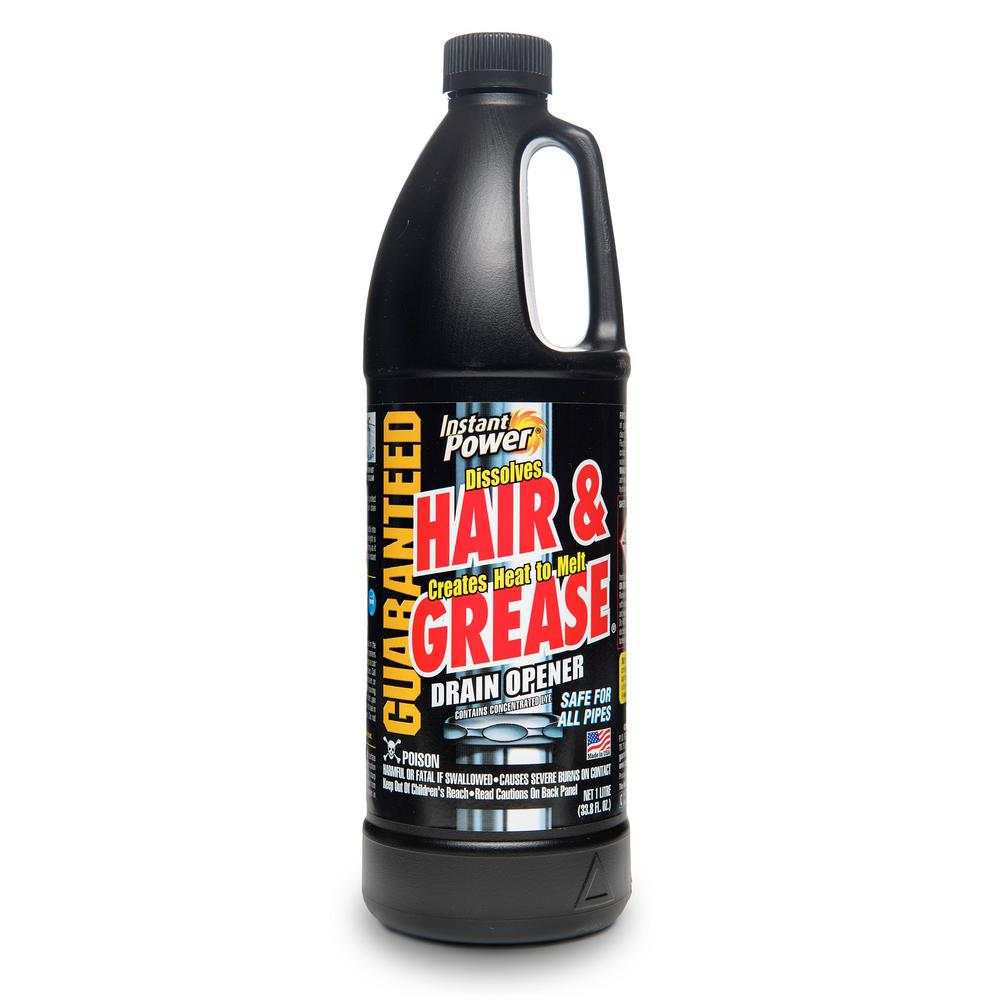 Instant Power 33.8 oz. Hair and Grease Drain Cleaner