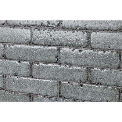 Magma Stone Gray Brick 3 in. x 12 in. 19mm Glazed Subway Tile (4.11 sq. ft. / box, 17 pieces per set)