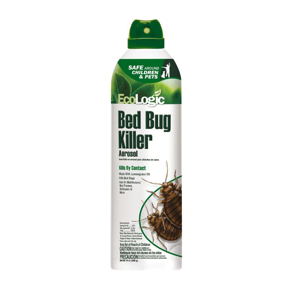 Ecologic 14 Oz Aerosol Bed Bug Killer Hg 75002 The Home Depot