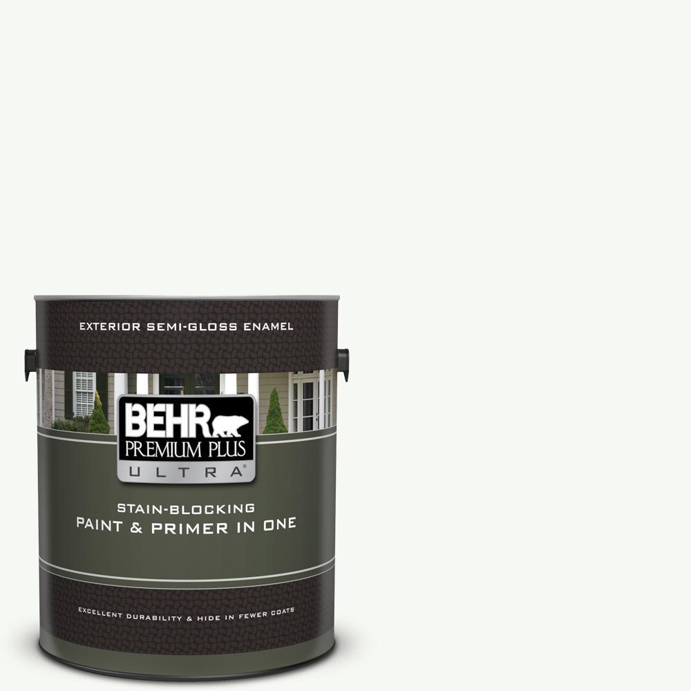 Behr Premium Plus Ultra 1 Gal Ppu18 06 Pure White Semi