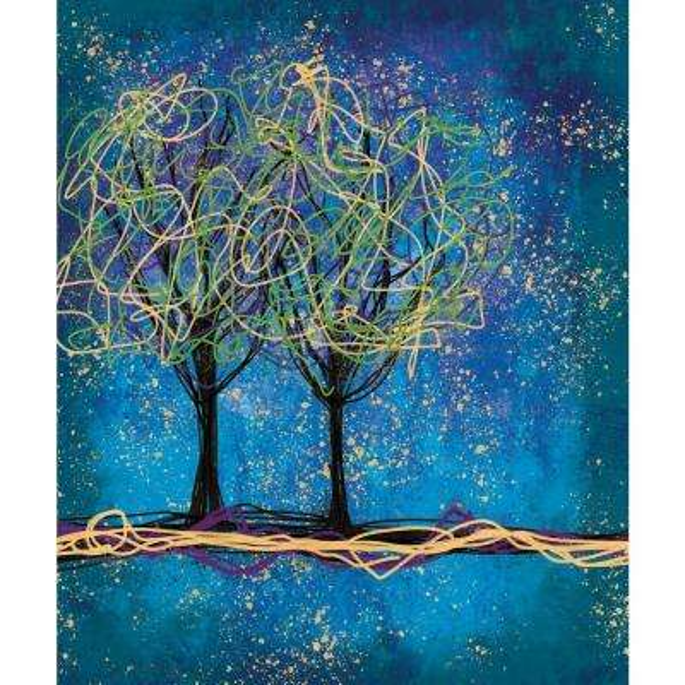 Trees - Vertical - Canvas Art - Wall Art - The Home Depot